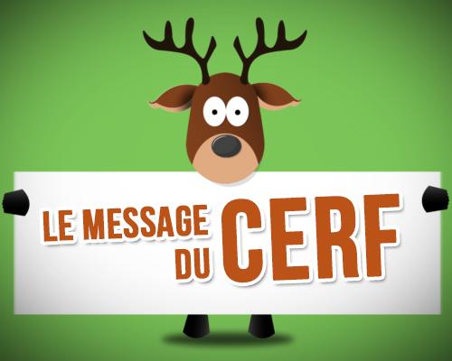 Carte Bonne Fete Gabin.Le Message Du Cerf Carte Bonne Fete Animee Tous Mes Voeux Com