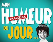 Humeur chanceuse - carte virtuelle humoristique personnalisable