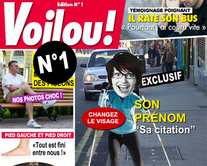 carte virtuelle une : Voilou 1 : le magazine People