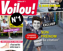 carte virtuelle couverture : Voilou 1 : le magazine People