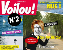 carte virtuelle couverture : Voilou 2 : le magazine People