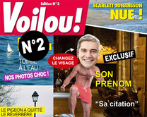 carte virtuelle magasine : Voilou 2 : le magazine People
