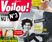 carte virtuelle couverture : Voilou 3 : le magazine People