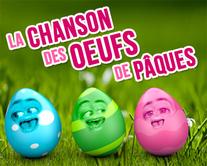 Chanson des oeufs de Pâques - carte virtuelle humoristique à personnaliser