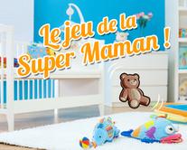 Le jeu de la Super Maman - carte virtuelle humoristique à personnaliser