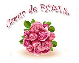 Coeur de roses - carte virtuelle humoristique à personnaliser