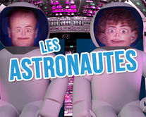 carte virtuelle sketch : Les astronautes