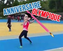 carte virtuelle bougie : Un anniversaire Olympique