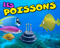 carte virtuelle sketch : Les poissons