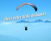 Dans les nuages - carte virtuelle humoristique à personnaliser