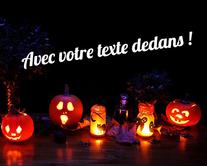 cartes virtuelles personnalisables Halloween