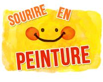 Sourire en peinture - carte virtuelle humoristique personnalisable