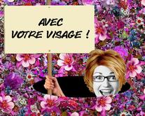 Dîtes-le avec des fleurs - carte virtuelle humoristique personnalisable