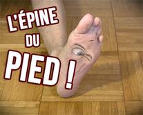 carte virtuelle pied : L'épine du pied