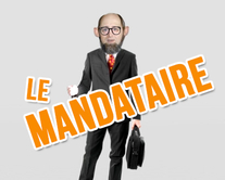 carte virtuelle message : Le mandataire
