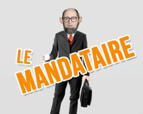 Le mandataire - carte virtuelle humoristique personnalisable