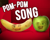 carte virtuelle sautes : Pom-pom song