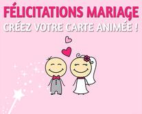 Mariage - carte virtuelle humoristique personnalisable