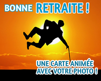 carte virtuelle photo : Bonne retraite