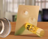 La colle et le papier - carte virtuelle humoristique à personnaliser