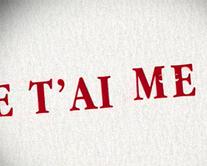 Lettres d'amour - carte virtuelle humoristique à personnaliser