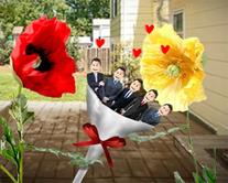 carte virtuelle bouquet : Les fleurs