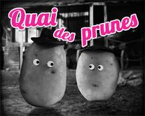 Quai des Prunes - carte virtuelle humoristique personnalisable