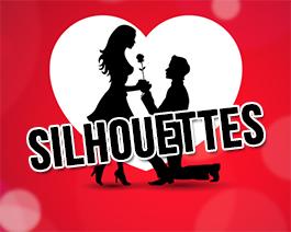 Silhouettes - carte virtuelle humoristique à personnaliser