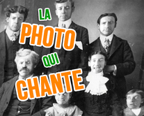 La photo qui chante - carte virtuelle humoristique à personnaliser