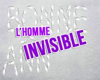 L'homme invisible - carte virtuelle humoristique personnalisable