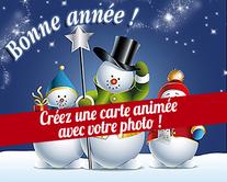 Créez votre carte de Bonne Année avec votre photo - carte virtuelle humoristique à personnaliser