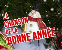 La chanson de la Bonne Année - carte virtuelle humoristique personnalisable