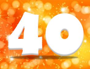 Texte Anniversaire 40 Ans Idees De Textes Originales Pour